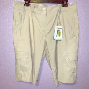 Khaki Nike Golf Shorts